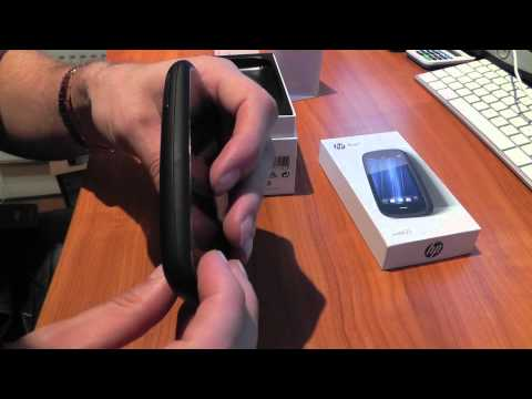 HP Pre 3 Phone Unboxing
