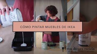 Como pintar muebles de Ikea con Auténtico Chalk Paint