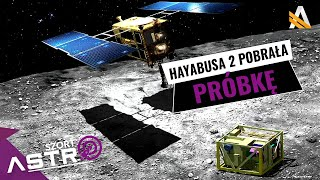 Sonda Hayabusa 2 pobrała próbki z asteroidy Ryugu - AstroSzrot