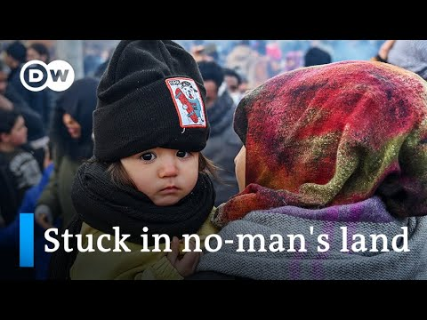 Thousands stranded on border between Turkey and Greece | DW News