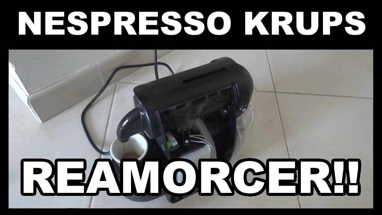 nespresso krups reamorcer r amorcage eau qui ne coule pas plus krups sur xn2003 essenza youtube. Black Bedroom Furniture Sets. Home Design Ideas