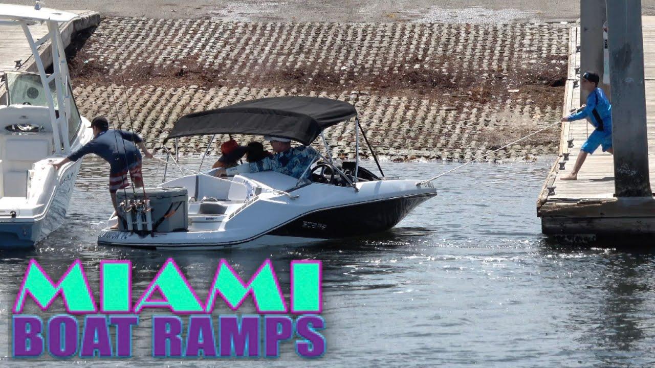 Don't Hit My Boat Bro!! | Miami Boat Ramps | Boynton Beach