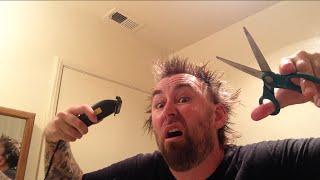 TDW 1104 - FAIL ! Cutting My Own Hair / Worst Haircut EVER !