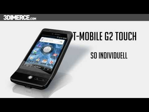 T-Mobile G2 Touch 3D Product video by 3DIMERCE.com