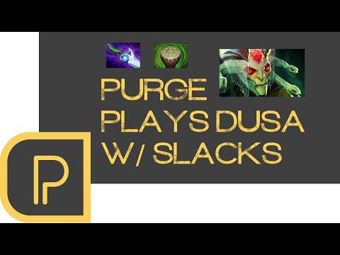 Dota 2 Purge plays Offlane Medusa