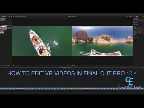 How To Edit GoPro Fusion & Edit VR Videos In Final Cut Pro 10.4 Update (In 5K)