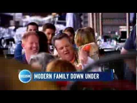 'Modern Family' Down Under   Studio 10