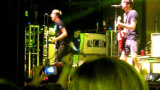 """All Time Low - """"Damned If I Do Ya / Damned If I Don't"""" - Jannus Live 4/16/13"""