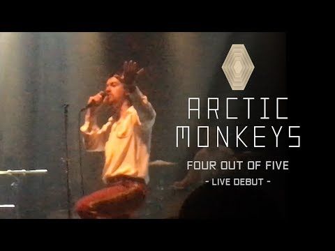 Arctic Monkeys - Four Out of Five (Live Debut @ San Diego May 2nd, 2018)