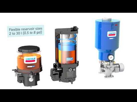 SKF Progressive Lubrication Systems