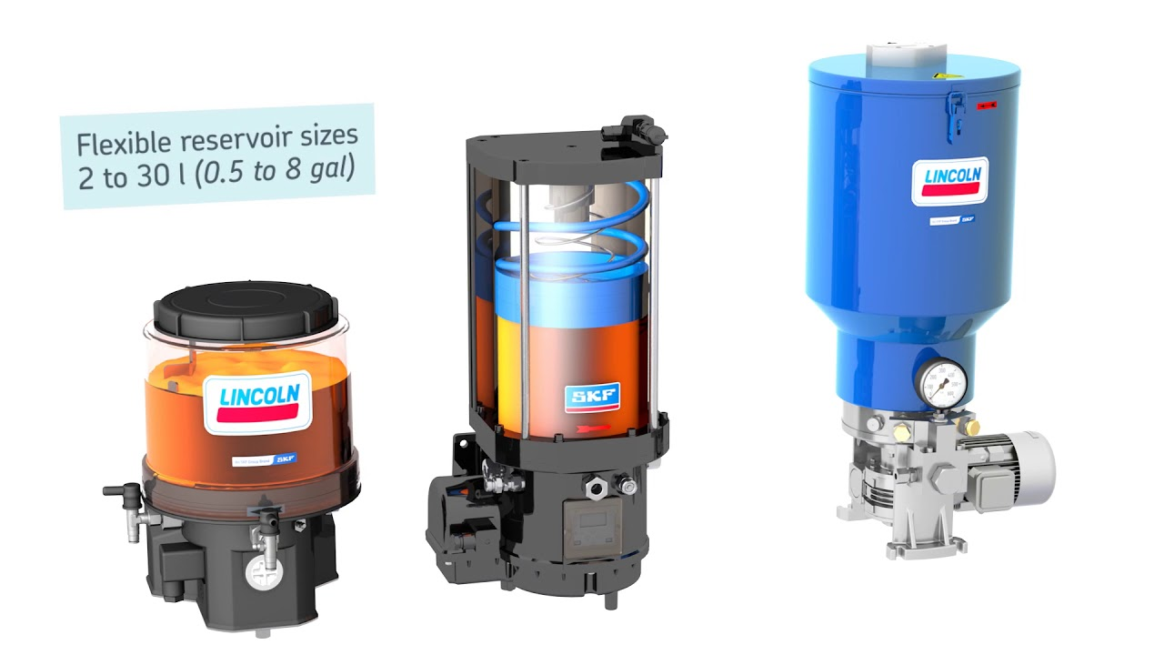Progressive lubrication systems | SKF and Lincoln