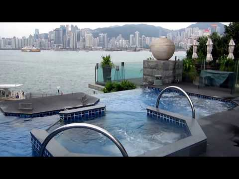 InterContinental Hong Kong Pool Tour - 香港洲际酒店游泳池游