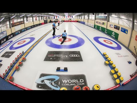 Curling Day 2 Session 6: Mixed Doubles Curling Tournament presented by  Forsyth Barr