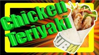 Subway Chicken Teriyaki Wrap Taste Test