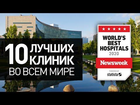 ТОП 10 лучших клиник в мире в 2020 году