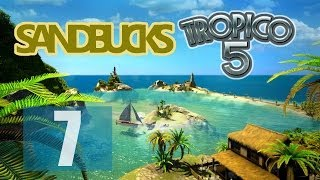 Amazon Now Ships Aircraft Carriers! [7] Sandbucks Tropico 5 Gameplay
