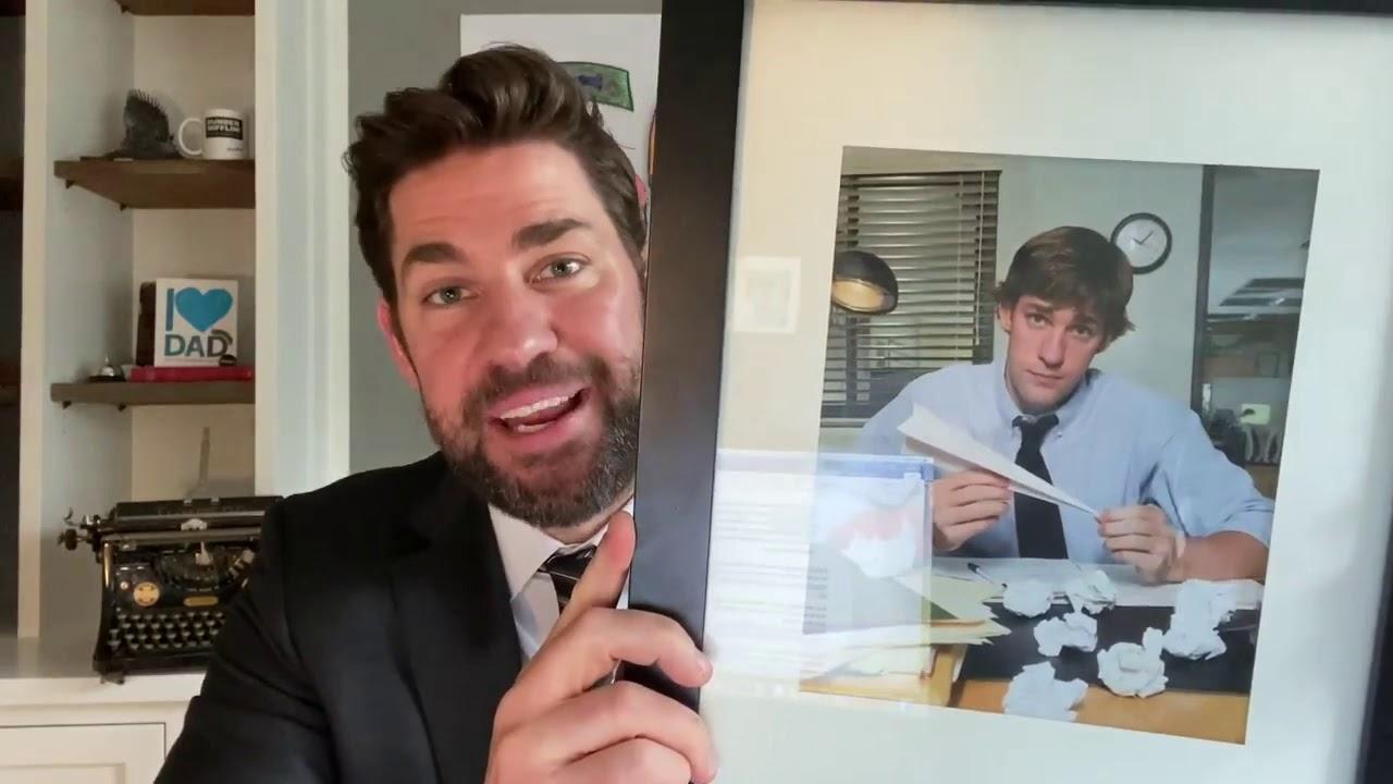 John Krasinski and Steve Carell gave us a mini 'The Office' reunion ...