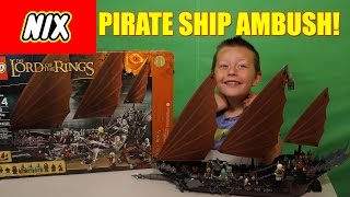 Lego Lord Of The Rings Pirate Ship Ambush! Build, Review, & Play! 79008 Nix!
