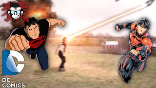 Superman NEW 52 SUPERBOY  Action sequence FAN FILM.
