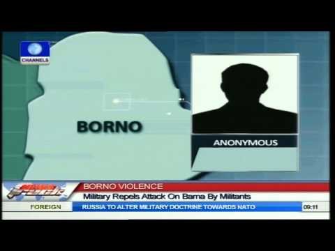 Borno Violence: Military Repels Attack On Bama