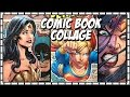 COMIC BOOK COLLAGE TUTORIAL | SwanStarDesigns