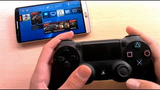 tutorial PLAY PS4 on ANY ANDROID phone! UPDATED APK 2017!