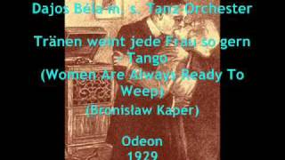 Polish Tango from Berlin: Dajos Béla plays Bronisław Kaper, 1929