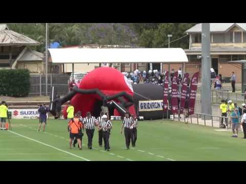 Gridiron Qld Colts' Sunbowl 2016 Gold Coast Stingrays v Bayside Ravens 26-11-2016