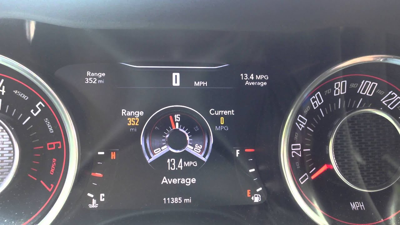 2015 Dodge Challenger RT Scat Pack Average MPG inaccurate  YouTube