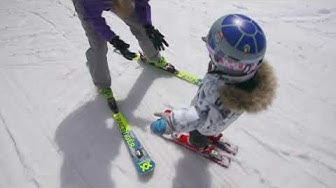 Teaching Your Kids to Ski: Using an Edgie Wedgie