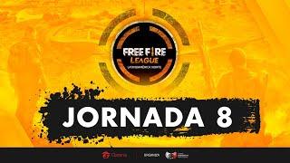 FREE FIRE LEAGUE - LAN - JORNADA 8