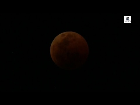 Lunar eclipse 2018 Live: Watch the rare once in a century lunar eclipse | ABC News