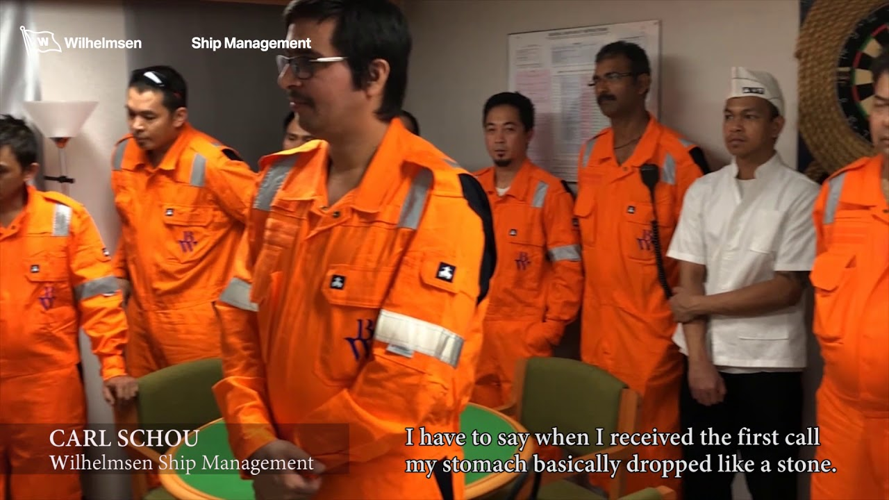 Watch: BW LPG honors crew for thwarting piracy attack