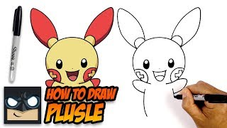 How to Draw Pokemon | Plusle | Step-by-Step for Beginners