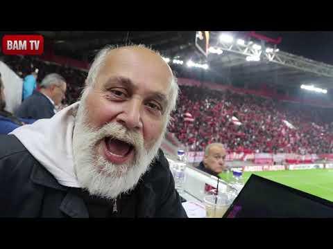 BAM TV  Γκολ θέαμα και ντέρμπι ΟΛΥΜΠΙΑΚΟΣ-ΝΤΟΥΝΤΕΛΑΝΖ 5-1