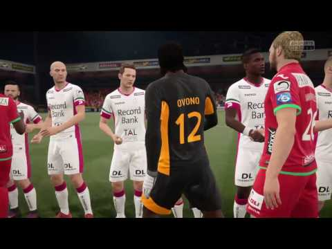 FIFA 17 - KV OOSTENDE VS ZULTE-WAREGEM GAMEPLAY - BELGIUM PRO LEAGUE