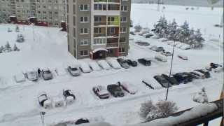 Poprad - Snehová Kalamita (7.2.2013)
