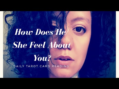 How Does He/She Feel About You ✨ Daily Love Tarot 💖 Monday May 21st 2018