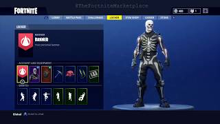 MOST STACKED FORTNITE ACCOUNT FOR SALE SKULL TROOPER & MORE !!