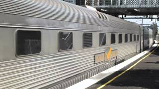 Australian Trains Indian Pacific At Homebush 26Sep15