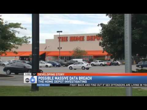 Report The Home Depot Latest Victim Of Cred Youtube