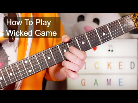 'Wicked Game' Chris Isaak Guitar Lesson