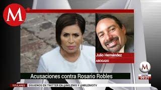 Acusaciones contra Rosario Robles: Julio Hernández (abogado)