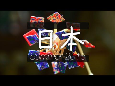 Summer 2015: Across Japan