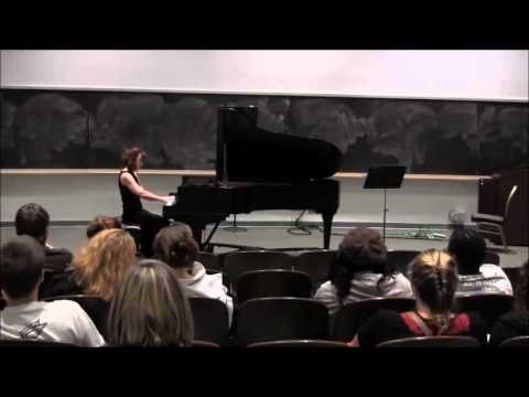 Fitchburg State University Music: Michelle Kelley performing