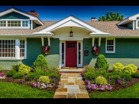 The best styles of exterior house paint color schemes - Good color combinations for house exterior ...