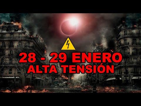 LA SINIESTRA PREDICCIÓN DEL 28 - 29 DE ENERO DE 2021 DÍAS DE ALTA TENSIÓN