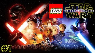 LEGO Star Wars: The Force Awakens. Обзор Игры - Прохождение №1 (Gameplay iOS/Android)
