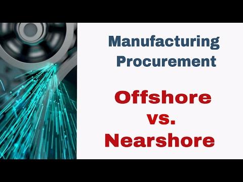 Offshore vs Nearshore?