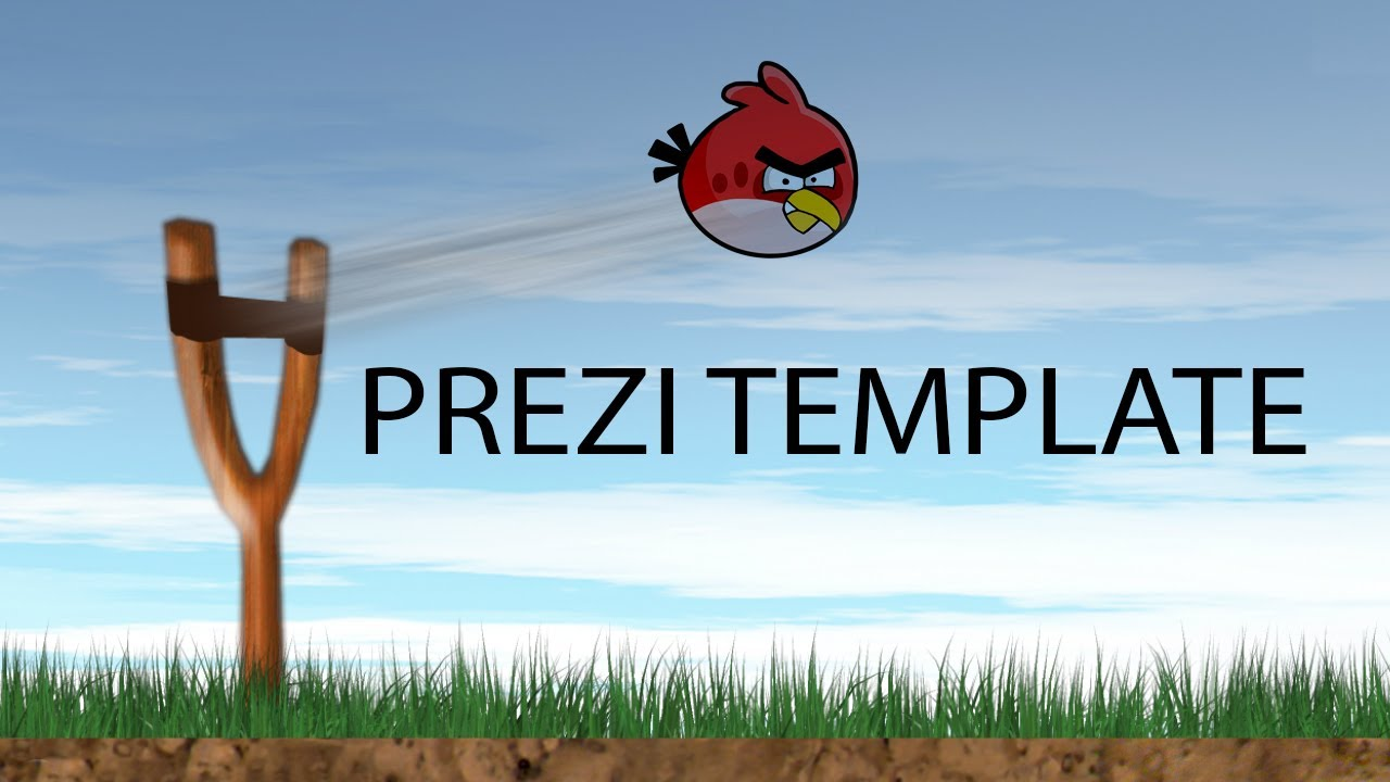 angry birds free prezi template youtube